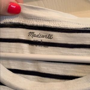 Madewell Tops - Madewell striped crew neck pocket tee